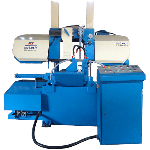 330 mm semi automatic bandsaw machine, Bandsaw Machine
