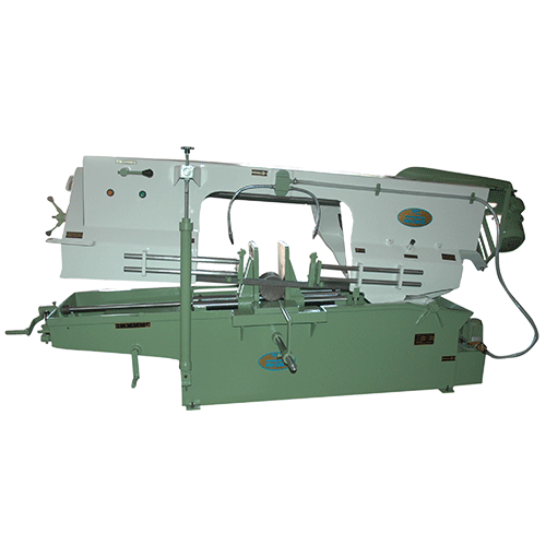 High Speed bandsaw machine, Bandsaw Machine, Bandsaw Machine Manufacturer, Manual Bandsaw Machine Manufacturers in Gujarat, Bandsaw Machine Supplier